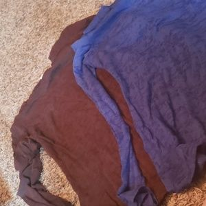 2 maurices long sleeve small